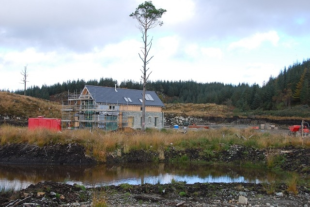 New house under construction by Patrick Mackie via geograph.org.uk